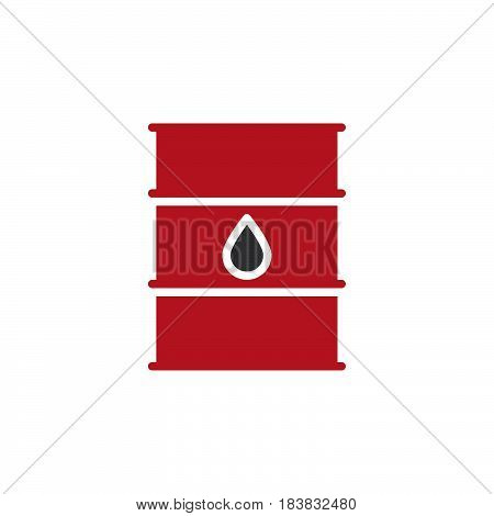 Oil barrel icon vector filled flat sign solid colorful pictogram isolated on white. Symbol logo illustration. Pixel perfect