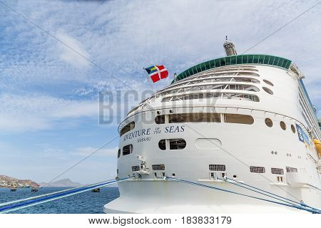 Adventure Of The Seas Docked