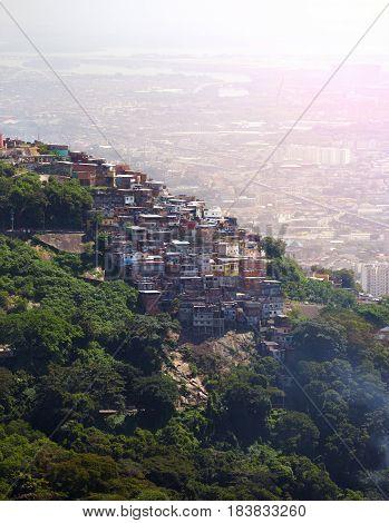 Favelas Of Rio