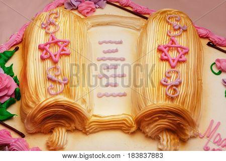 Jewish Cake Ritual Clothing