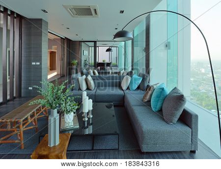 Luxury Modern Living Room Interior And Decoration, Interior Design