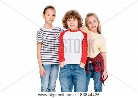 Group Of Friends Looking At Camera