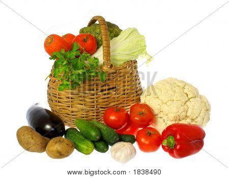 蔬菜和篮子