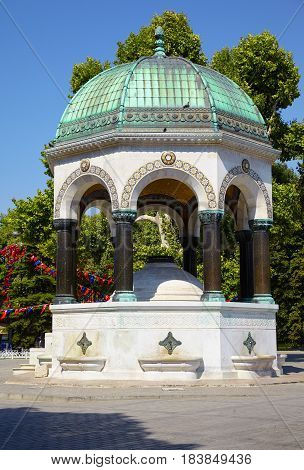 The German Fountain, Istanbul