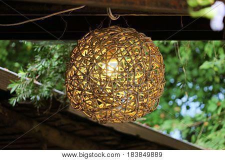 Lighting lamps home decoration interior design background