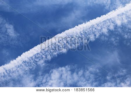 Cloudy blue sky background. Blue sky cloudy abstract background