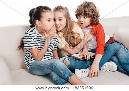 Friends Sharing Secrets