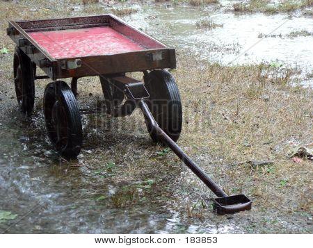 Red Wagon Rain 1