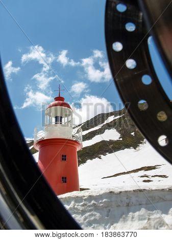 The Lighthouse At Oberalp Pass