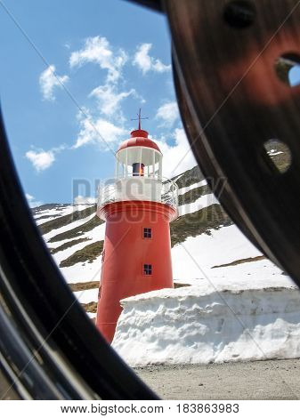 The Lighthouse At Oberalp Pass