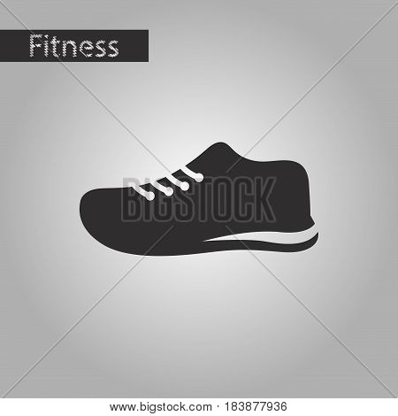 black and white style icon sports shoes