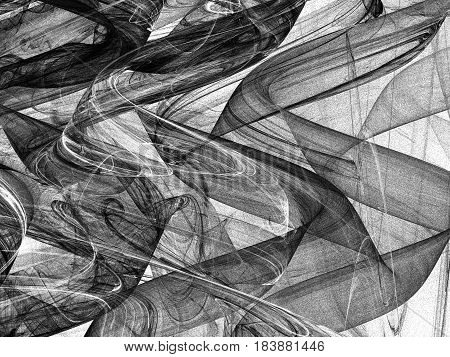 Abstract Grunge Dirty Black Background On White Backdrop