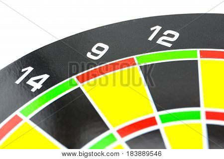 Setting Goal Or Accurate Planning, Hand Going To Take Dart Into The Center Of Dartboard