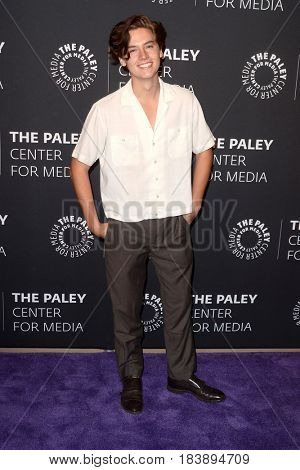 LOS ANGELES - APR 27:  Cole Sprouse at the