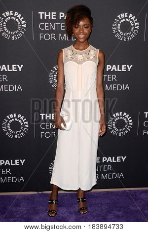 LOS ANGELES - APR 27:  Ashleigh Murray at the