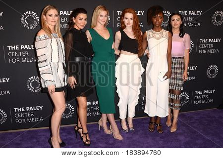 LOS ANGELES - APR 27:  Riverdale cast members at the