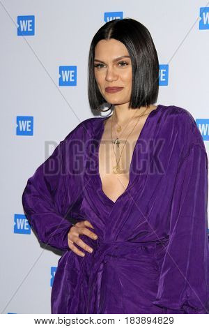 LOS ANGELES - APR 26:  Jesse J, Jessica Ellen Cornish at the We Day California 2017 Cocktail Reception at the NeueHouse Hollywood on April 26, 2017 in Los Angeles, CA