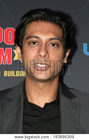 LOS ANGELES - APR 26:  Abhi Sinha at the NATAS Daytime Emmy Nominees Reception at the Hollywood Museum on April 26, 2017 in Los Angeles, CA