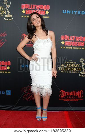 LOS ANGELES - APR 26:  Camila Banus at the NATAS Daytime Emmy Nominees Reception at the Hollywood Museum on April 26, 2017 in Los Angeles, CA