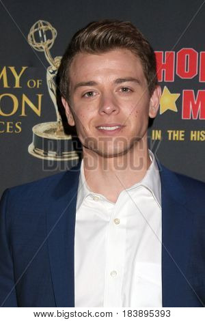 LOS ANGELES - APR 26:  Chad Duell at the NATAS Daytime Emmy Nominees Reception at the Hollywood Museum on April 26, 2017 in Los Angeles, CA
