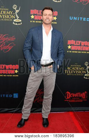 LOS ANGELES - APR 26:  Eric Martsolf at the NATAS Daytime Emmy Nominees Reception at the Hollywood Museum on April 26, 2017 in Los Angeles, CA