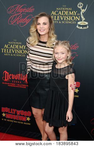 LOS ANGELES - APR 26:  Gina Tognoni, Alyvia Alyn Lind at the NATAS Daytime Emmy Nominees Reception at the Hollywood Museum on April 26, 2017 in Los Angeles, CA