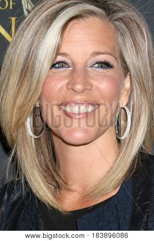 LOS ANGELES - APR 26:  Laura Wright at the NATAS Daytime Emmy Nominees Reception at the Hollywood Museum on April 26, 2017 in Los Angeles, CA