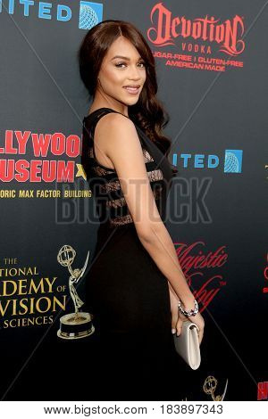 LOS ANGELES - APR 26:  Reign Edwards at the NATAS Daytime Emmy Nominees Reception at the Hollywood Museum on April 26, 2017 in Los Angeles, CA