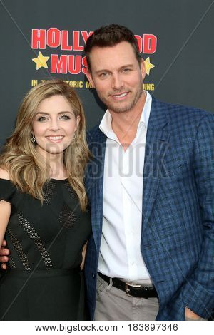 LOS ANGELES - APR 26:  Jen Lilley, Eric Martsolf at the NATAS Daytime Emmy Nominees Reception at the Hollywood Museum on April 26, 2017 in Los Angeles, CA