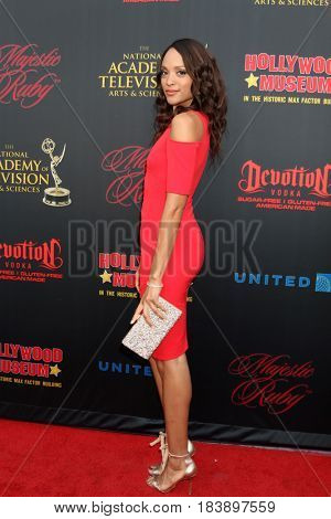 LOS ANGELES - APR 26:  Sal Stower at the NATAS Daytime Emmy Nominees Reception at the Hollywood Museum on April 26, 2017 in Los Angeles, CA