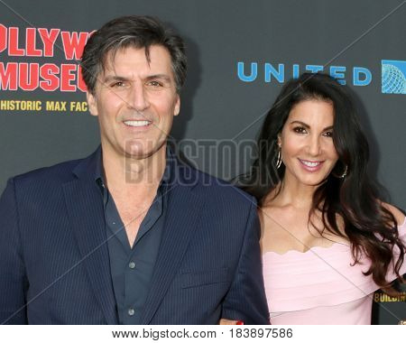 LOS ANGELES - APR 26:  Vincent Irizarry, Donna Petracc at the NATAS Daytime Emmy Nominees Reception at the Hollywood Museum on April 26, 2017 in Los Angeles, CA