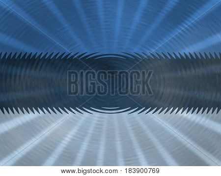 Estonia flag background with ripples and rays illustration
