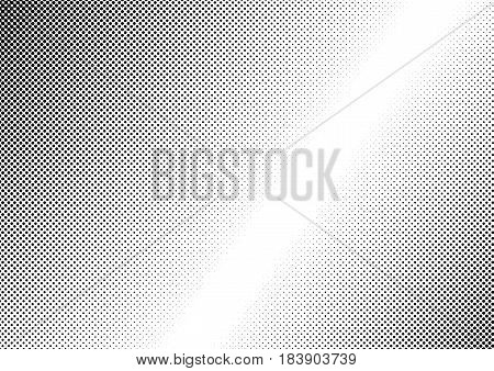 Abstract dotted black and white vector background
