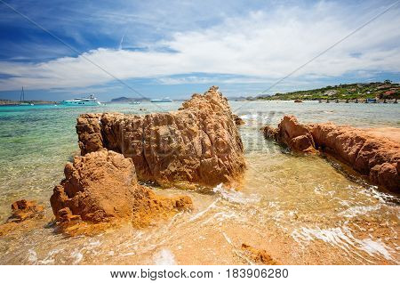 Liscia Ruja Costa Smeralda Emerald coast Sardinia Italy
