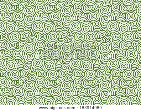 Vector green Chinese cloud pattern background textured