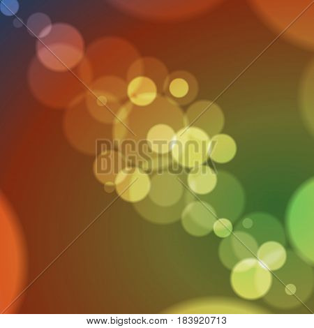 Abstract background of transparent bubbles. Vector illustration.
