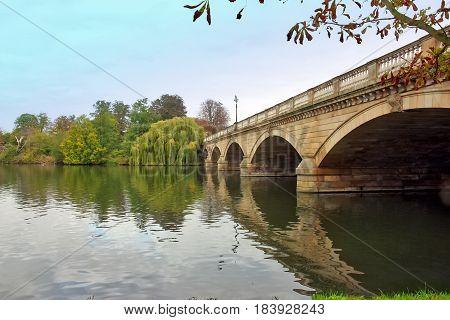 The Serpentine Bridge, Hyde Park, London, United Kingdom