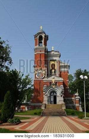 Chapel-burial vault of Svyatopolk-Mirsky. Belarus, Grodno region, Mir