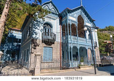 House Of Mirza-riza-khan In Borjomi. Georgia