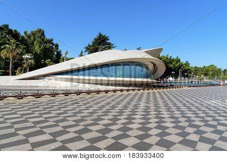 Wedding Palace In Batumi. Georgia