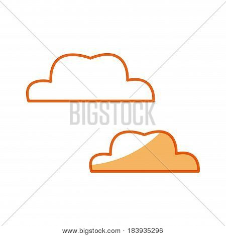 cloud weather climate design vector illustration icon