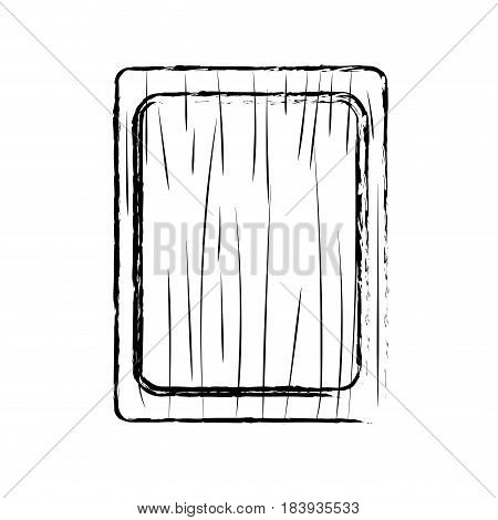 contour cutting board practical to prepare fresh vegetable, vector illustration