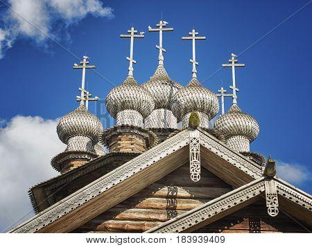 Church of the Intercession of the Virgin. Karelia, Kizhi
