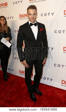 NEW YORK-APR 27: Model Drew Gallagher attends the 11th Annual DKMS 'Big Love' Gala at Cipriani Wall Street on April 27, 2017 in New York City.