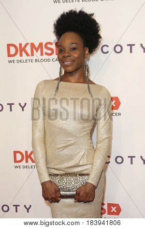 NEW YORK-APR 27: Hip hop ballerina Ebony Williams attends the 11th Annual DKMS 'Big Love' Gala at Cipriani Wall Street on April 27, 2017 in New York City.