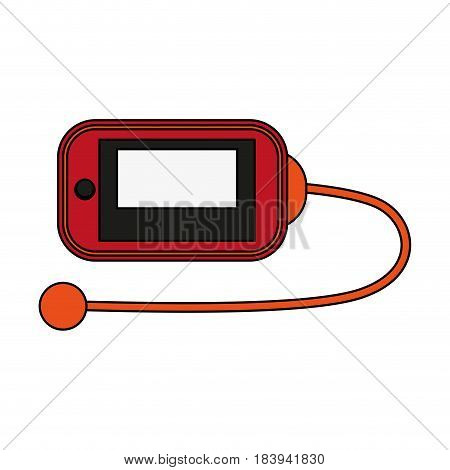 colorful graphic sport accesories device vector illustration