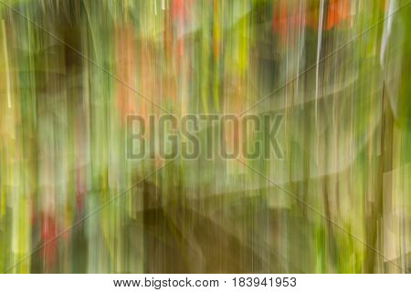 Photographic Abstraction with a modern twist and adding movement