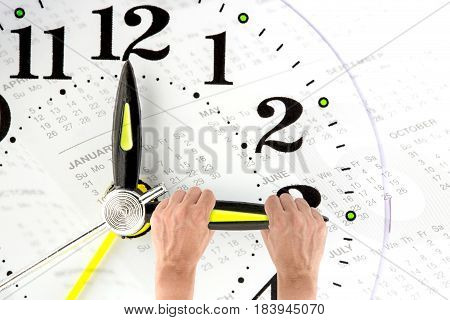 Deadline. Hand Trying To Stop Time. Time Management. Time Pressure. Cure For Old Age. Annual Reports