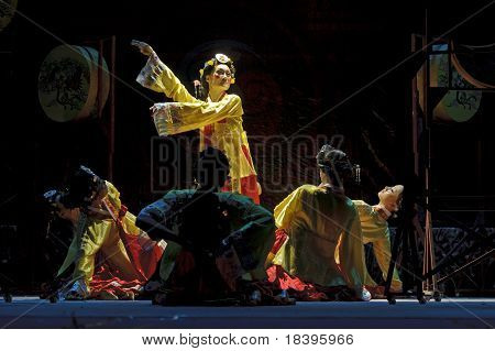 Korean Ethnic Dancers