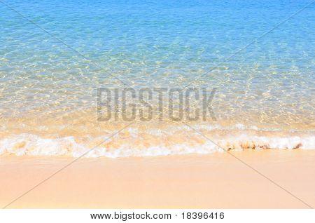 Tropical beach and ocean background australia
